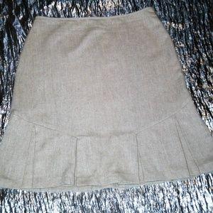 #563 GEORGE Above the Knee Tweed Skirt
